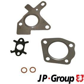 Nissan Note e11 1.5dCi Montagesatz, Abgasanlage JP GROUP 4317751510 (1.5 dCi Diesel 2012 K9K 288)