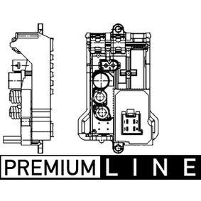 Regler, Innenraumgebläse für Fahrzeuge mit Klimaanlage mit OEM-Nummer 230 821 64 51