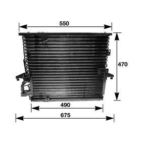 MAHLE ORIGINAL  AC 147 000S Kondensator, Klimaanlage