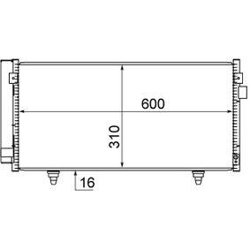 Kondensator, Klimaanlage Art. Nr. AC 718 000S 120,00€