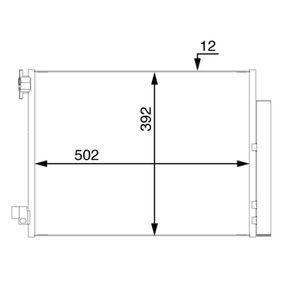 Kondensator, Klimaanlage mit OEM-Nummer 92100-6454R