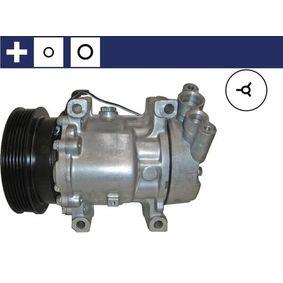 Kompressor, Klimaanlage ACP 31 000S CLIO 2 (BB0/1/2, CB0/1/2) 1.5 dCi Bj 2014