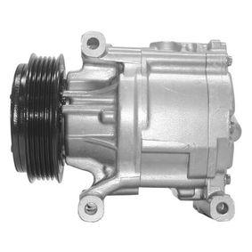 Compressor, air conditioning ACP 358 000S PANDA (169) 1.2 MY 2010