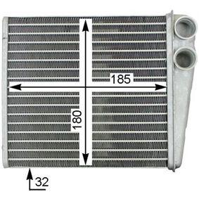 Топлообменник, отопление на вътрешното пространство AH 208 000S Golf 5 (1K1) 1.9 TDI Г.П. 2004
