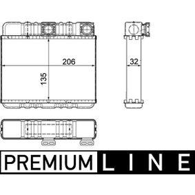 Wärmetauscher, Innenraumheizung AH 87 000P X3 (E83) 2.0 d Bj 2004