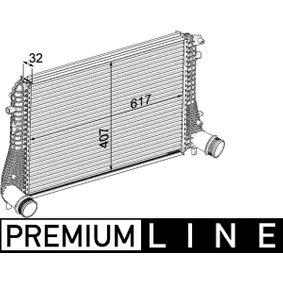 Ladeluftkühler mit OEM-Nummer 1K0.145.803 AS