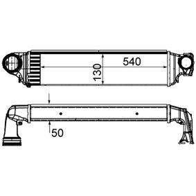 Ladeluftkühler CI 425 000S 3 Limousine (E46) 320d 2.0 Bj 2001