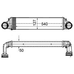 Ladeluftkühler CI 488 000S X3 (E83) 2.0 d Bj 2003