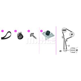 Water pump and timing belt kit with OEM Number 8200367922