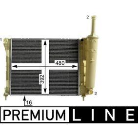 Kühler, Motorkühlung mit OEM-Nummer 519 39 068