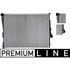 Radiateur, refroidissement du moteur avec OEM numéro 17111611573