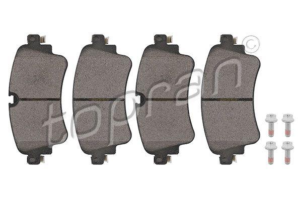 TOPRAN  624 506 Brake Pad Set, disc brake Thickness 1: 17,5mm