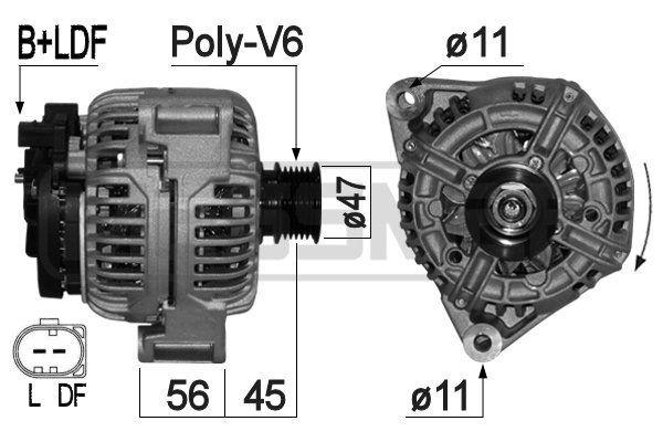 MESSMER  209279A Lichtmaschine