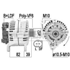 Lichtmaschine mit OEM-Nummer 996 603 012 02
