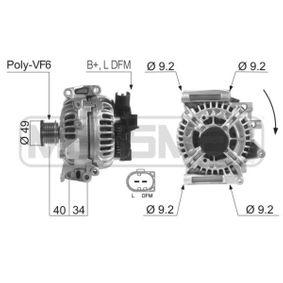Generator mit OEM-Nummer 012 154 9802