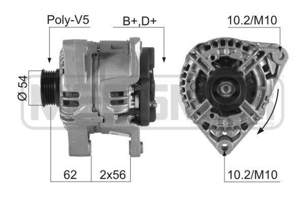 MESSMER  210356A Lichtmaschine
