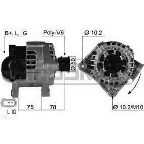 Lichtmaschine mit OEM-Nummer 1231 7501 755