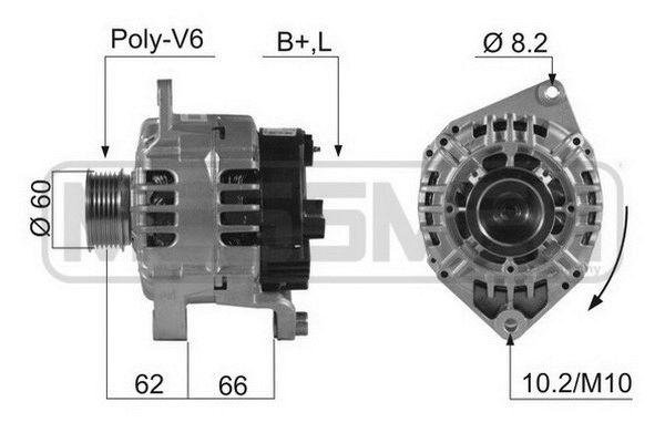 MESSMER  210470A Lichtmaschine