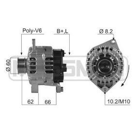 Lichtmaschine mit OEM-Nummer 50 037 124 4
