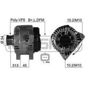 Generator mit OEM-Nummer 96 4632 1780