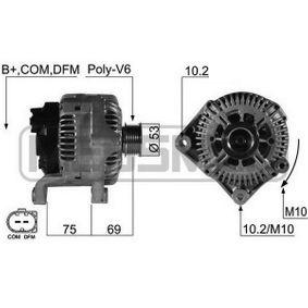 Lichtmaschine mit OEM-Nummer 12-31-7-799-204