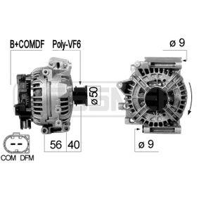 Generator mit OEM-Nummer A014 1540 702