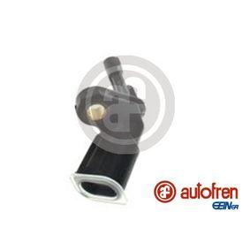 Sensor, Raddrehzahl Pol-Anzahl: 2-polig mit OEM-Nummer WHT003858