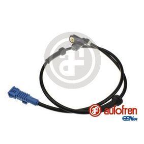 Sensor, wheel speed DS0049 206 Hatchback (2A/C) 1.4 HDi MY 2007