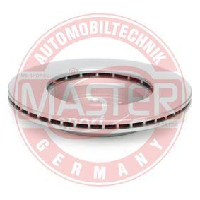 MASTER-SPORT Brake disc kit Vented, Coated