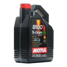 MOTUL 8100, X-CLEAN EFE 109171 Motoröl