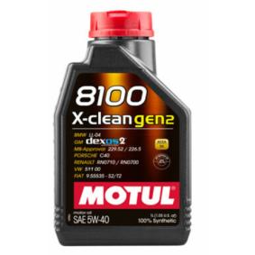 MOTUL 8100, X-CLEAN GEN2 109761 Motoröl