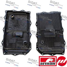 Oil Pan, automatic transmission with OEM Number 24 11 8 612 901