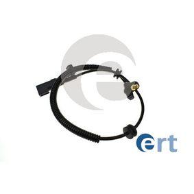 Sensor, Raddrehzahl Pol-Anzahl: 2-polig mit OEM-Nummer 98AG2B372CC