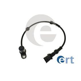 Sensor, Raddrehzahl Pol-Anzahl: 2-polig mit OEM-Nummer 9 115 064