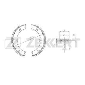 Bremsbackensatz Breite: 25mm mit OEM-Nummer A 906 420 03 20