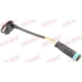 Warnkontakt, Bremsbelagverschleiß Länge: 103mm mit OEM-Nummer 2E0 906 206 C