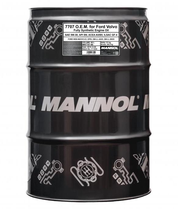 MANNOL O.E.M., 7707 MN7707-60 Motoröl