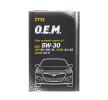 Двигателно масло 5W-30, съдържание: 1литър, Масло напълно синтетично EAN: 4036021101422