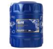 MANNOL Motorenöl PORSCHE A40 5W-40, Inhalt: 20l, Synthetiköl