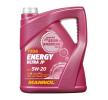 MANNOL Motorenöl CHRYSLER MS-6395 5W-20, Inhalt: 5l, Synthetiköl