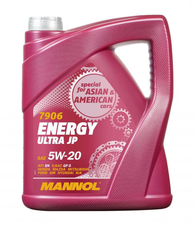 MANNOL ENERGY ULTRA JP MN7906-5 Motoröl