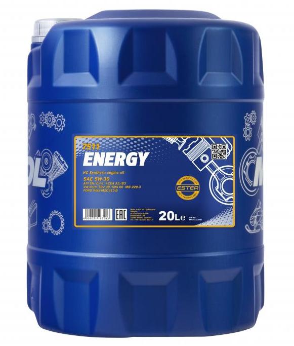 MANNOL ENERGY MN7511-20 Motoröl