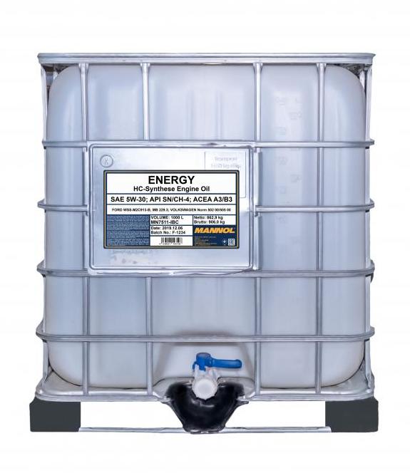 MANNOL ENERGY MN7511-IBC Motoröl