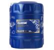Motoröl SUZUKI Swift III Schrägheck (MZ, EZ) 10W-40, Inhalt: 20l, Teilsynthetiköl
