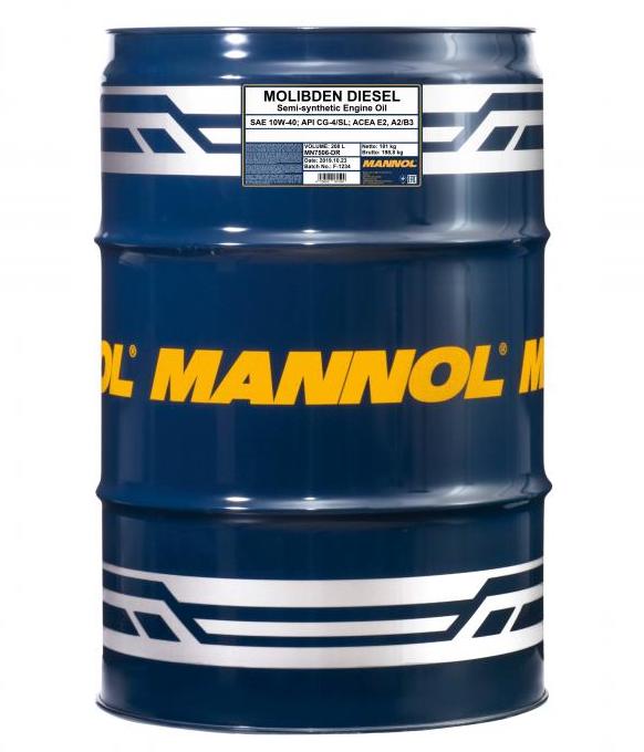 MANNOL MOLIBDEN DIESEL MN7506-DR Motorolaj