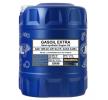 NISSAN PRIMERA 10W-40, Inhalt: 20l, Teilsynthetiköl MN7508-20