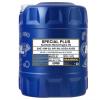 MANNOL Motorenöl VW 501 01 10W-30, Inhalt: 20l, Teilsynthetiköl