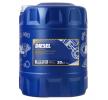 MANNOL Motorenöl MB 228.3 15W-40, Inhalt: 20l, Mineralöl