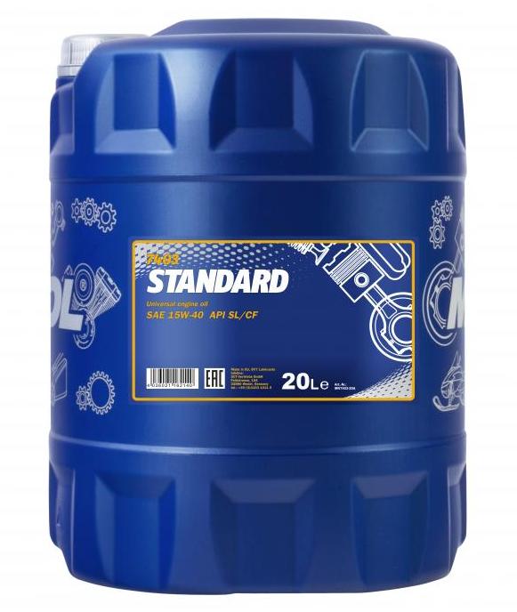 MANNOL STANDARD MN7403-20 Olio motore