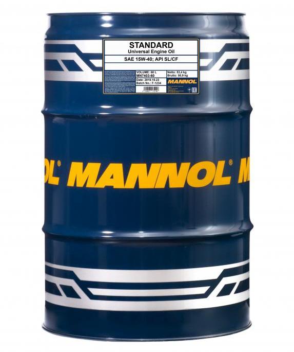 MANNOL STANDARD MN7403-60 Motoröl